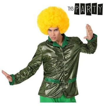 Adult-sized Jacket Th3 Party Disco Shine Green S1101089