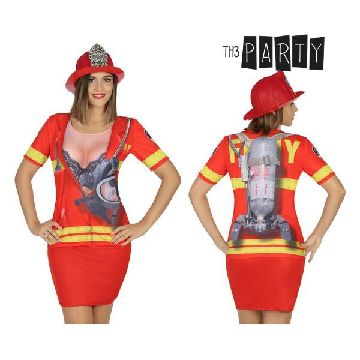 Adult T-shirt Th3 Party 6667 Firewoman