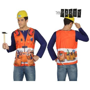 Adult T-shirt Th3 Party 7703 Builder