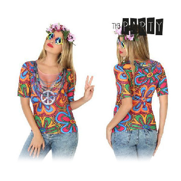 Adult T-shirt Th3 Party 8232 Hippie