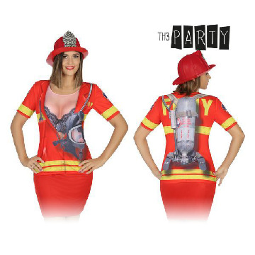 Adult T-shirt Th3 Party 8263 Firewoman