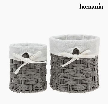 Set med kurve Homania 2978 (2 pcs) Grå
