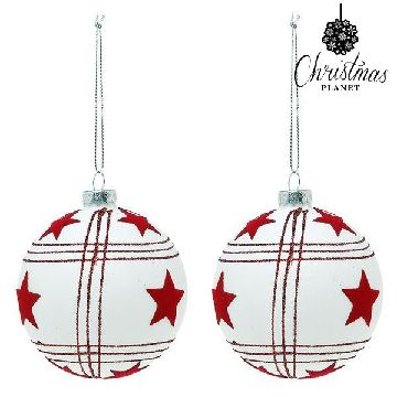 Christmas Baubles Christmas Planet 8656 8 cm (2 uds)