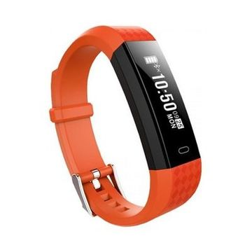 "Aktivitetsarmbånd BRIGMTON BSPORT B1 0,87"" OLED Bluetooth 4.0 IP67 Orange"