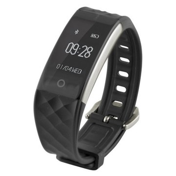 "Aktivitetsarmbånd Fitness Band HR 0,96"" Bluetooth 90 mAh Sort"
