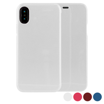 Folio Mobile Phone Case Iphone X/xs Hard Case Blå