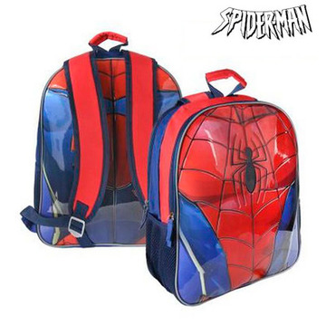Vendbar Skoletaske Spiderman 8935