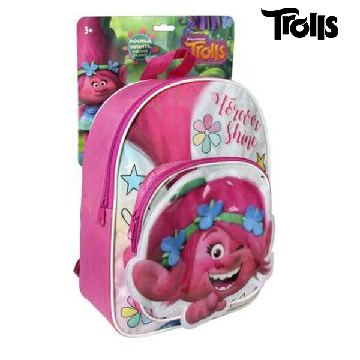 3D School Bag Trolls 72795