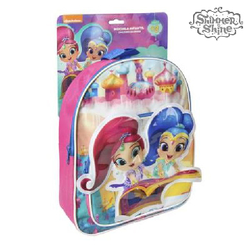 3D School Bag Shimmer and Shine 72801
