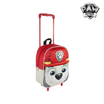 3D School Bag with Wheels The Paw Patrol 90125