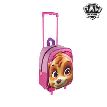 3D School Bag with Wheels The Paw Patrol 90149