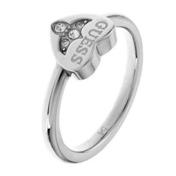 Ladies' Ring Guess USR81003-54C (17 mm)