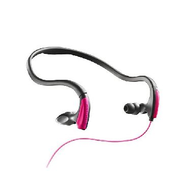 sports headphones with microphone Energy Sistem MAUAMI0259 397204 Pink Wired
