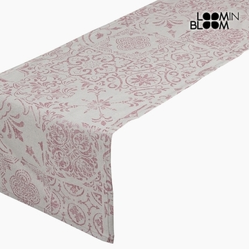 Table Runner Bomuld og polyester Pink (135 x 40 x 0,05 cm) by Loom In Bloom