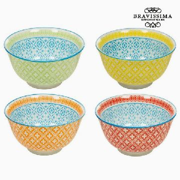 Set of bowls (4 pcs) - Queen Kitchen Collection by Bravissima Kitchen