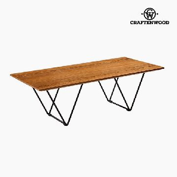 Centre Table Walnut Mdf (120 x 60 x 38 cm) by Craftenwood
