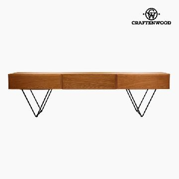 Television Table Walnut Mdf (200 x 40 x 55 cm) by Craftenwood