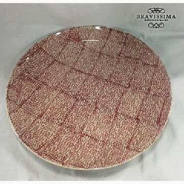 Deep Plate Stoneware (37 x 37 x 4 cm) by Bravissima Kitchen