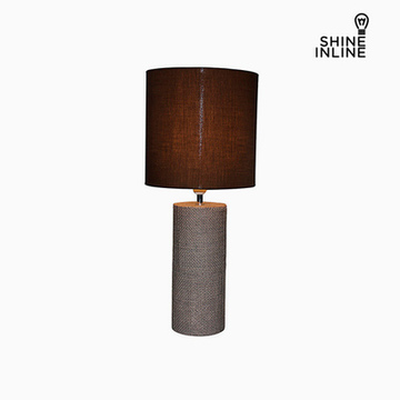 Bordlampe Brun (29 x 29 x 70 cm) by Shine Inline