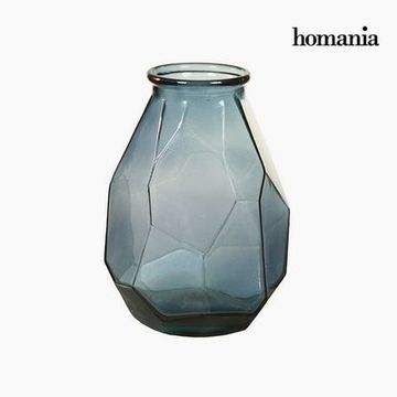 Vase made from recycled glass (25 x 25 x 35 cm) - Pure Crystal Deco Samling by Homania