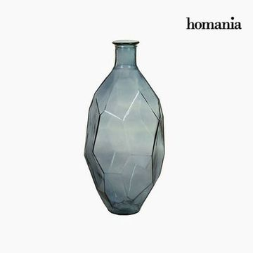 Vase made from recycled glass (29 x 29 x 59 cm) - Pure Crystal Deco Samling by Homania
