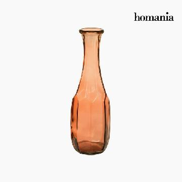 Vase made from recycled glass (13 x 13 x 40 cm) - Pure Crystal Deco Collection by Homania