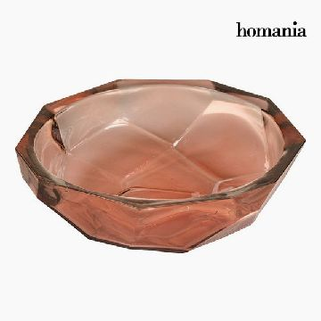Bordekoration af genbrugsglas Koral - Crystal Colours Deco Samling by Homania