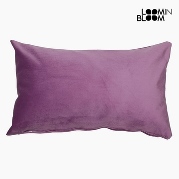 Pude Polyester Pink (30 x 50 x 10 cm) by Loom In Bloom