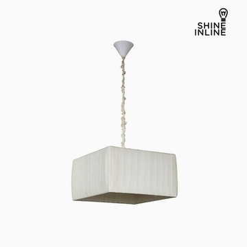 Loftslampe Bomuld Polyester (40 x 40 x 22 cm) by Shine Inline