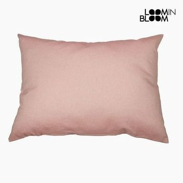 Pude Bomuld og polyester Pink (50 x 70 x 10 cm) by Loom In Bloom