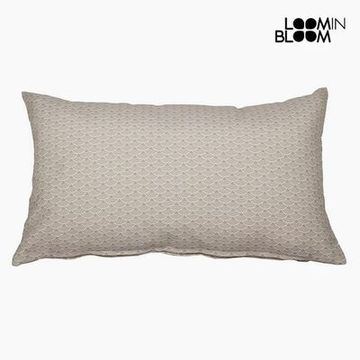 Pude Bomuld og polyester Beige (30 x 50 x 10 cm) by Loom In Bloom