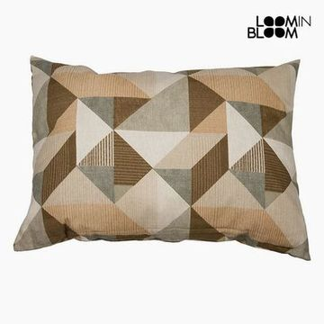 Pude Bomuld og polyester Beige (50 x 70 x 10 cm) by Loom In Bloom