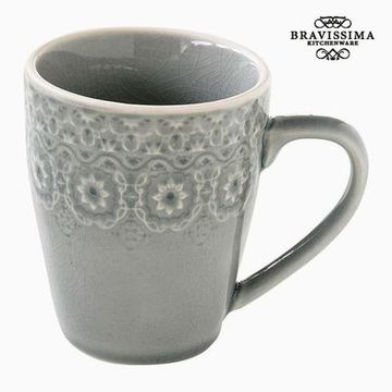 Skodelica Porcelæn Grå by Bravissima Kitchen