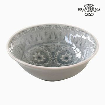 Skål Porcelæn Grå by Bravissima Kitchen