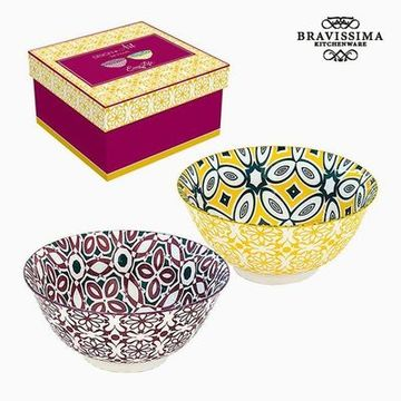 Komplet skled Porcelæn (2 pcs) by Bravissima Kitchen
