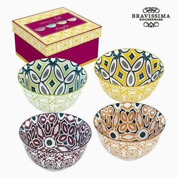 Komplet skled Porcelæn (4 pcs) by Bravissima Kitchen