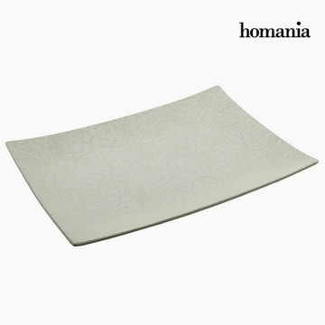 Borddekoration Keramik (40 x 29 x 4 cm) by Homania