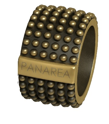 Ladies' Ring Panarea AS152RU2 (12 mm)