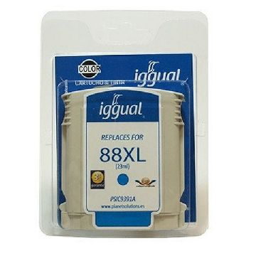 Recycled Ink Cartridge iggual CCICRC0164 PSIC9391A Cyan