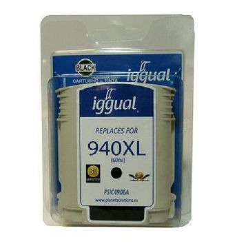 Recycled Ink Cartridge iggual HP SP-H-940BKXL-A Black