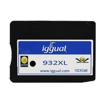 Recycled Ink Cartridge iggual HP SP-H-932BKXL-A Black