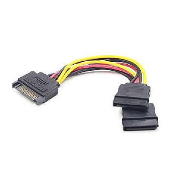 SATA Power Cable iggual APTAPC0460 IGG311790 0.15 m