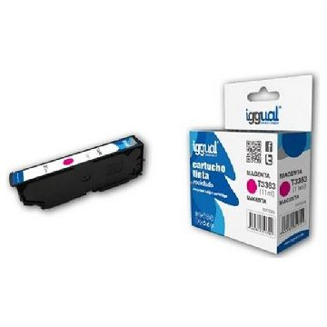 Recycled Ink Cartridge iggual CCICRC0308 IGG313701 Magenta