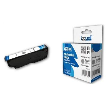 Recycled Ink Cartridge iggual CCICRC0306 IGG313725 Black