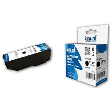 Recycled Ink Cartridge iggual CCICRC0305 IGG313732 Black