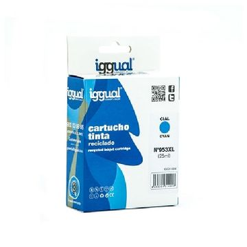Recycled Ink Cartridge iggual IGG314906 HP 953 Cyan