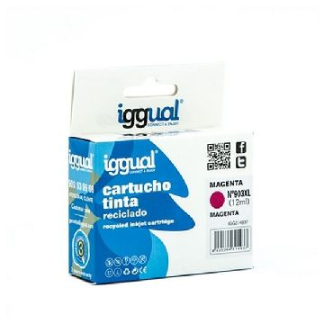 Recycled Ink Cartridge iggual IGG314937 HP 903 Magenta