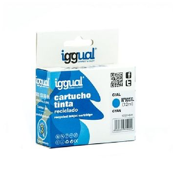 Recycled Ink Cartridge iggual IGG314944 HP 903 Cyan