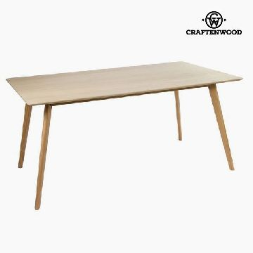 Spisebord Mdf Brun (160 x 90 x 75 cm) - Natural Samling by Craftenwood