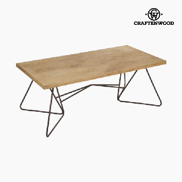 Centre Table 120 x 45 x 60 cm) Ironwork Fir Black - Perfect Collection by Craftenwood